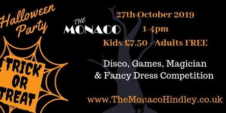 The Monaco Halloween Party tickets
