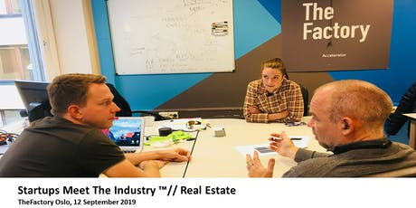 Startups Meet The Industry ™// Real Estate tickets