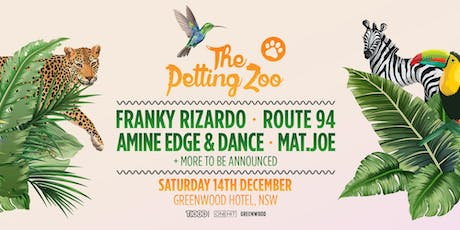 The Petting Zoo 2019 - Sydney tickets