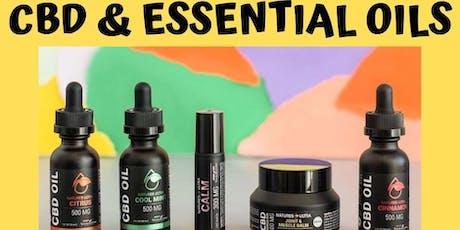CBD & Essential Oils tickets