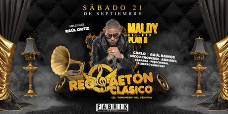 Reggaeton Clásico en FABRIK entradas