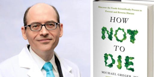 Dr. Michael Greger at Plant City