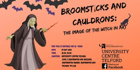Broomsticks and Cauldrons - Image of the Witch in Art tickets