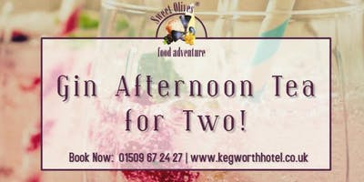 Gin Afternoon Tea for Two!