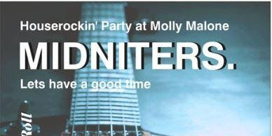 Houserockin' Party at Molly Malone