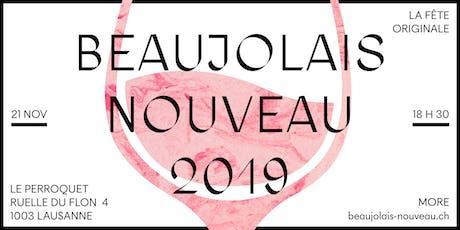 Fête du Beaujolais Nouveau 2019 - L'Originale tickets