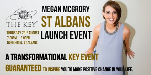 Unlock Your Potential - The Key Launches in St Albans with Co-Founder Megan