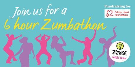 6hr Zumbathon in aid of  British Heart Foundation tickets