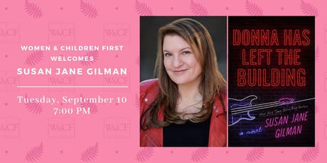 Author Reading: Donna Has Left the Building by Susan Jane Gilman tickets