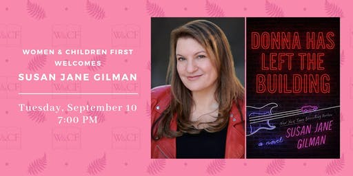 Author Reading: Donna Has Left the Building by Susan Jane Gilman