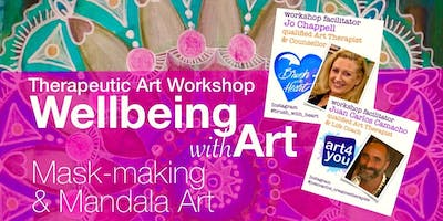 Well-Being with Art.  A therapeutic workshop to explore through art!