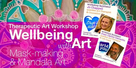 Well-Being with Art.  A therapeutic workshop to explore through art! tickets
