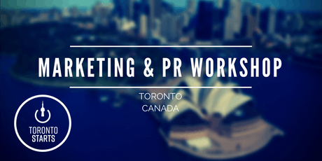 Marketing & PR Workshop with The Startup Coach tickets