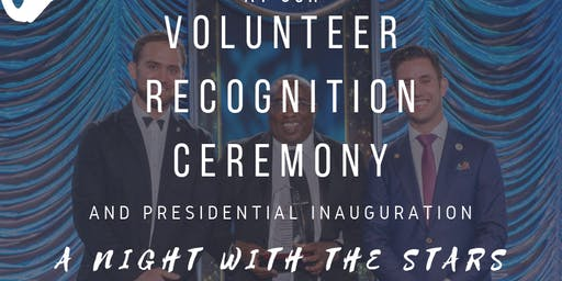 Volunteer Recognition Banquet & Presidential Inauguration Ceremony
