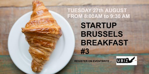 Startup Brussels Breakfast #3