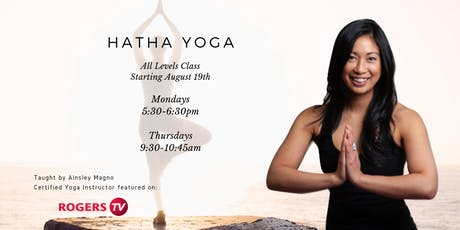 Hatha Yoga - All Levels (Thursdays) tickets