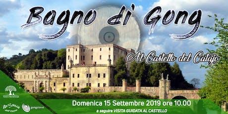 Bagno di Gong al Castello del Catajo biglietti