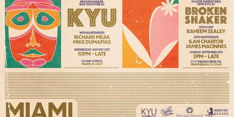 Broken Shaker Takeover at KYU tickets