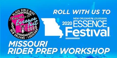 BGR to Essence Fest Rider Prep Workshop - Missouri tickets