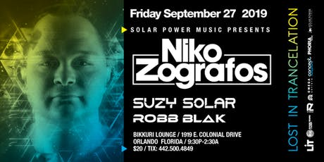 Lost in Trancelation ft. Niko Zografos, Suzy Solar, & Robb Blak tickets