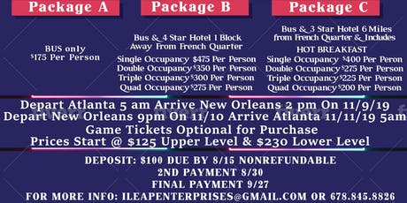 Rise Up The Bayou- Luxury Bus Trip to New Orleans tickets