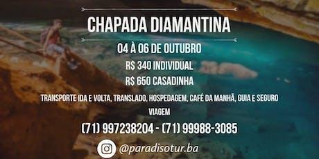 Chapada Diamantina 04/10 ingressos