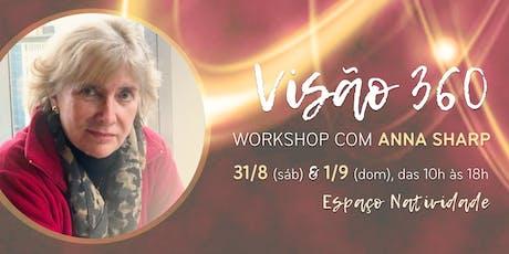 Visão 360 | Workshop com Anna Sharp no Espaço Natividade ingressos