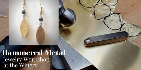 Hammered Metal Jewelry Workshop tickets