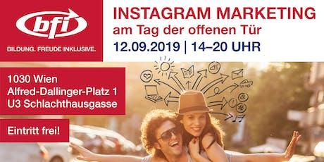 Instagram Marketing – Mit den richtigen Beiträgen zu neuen Kunden   Vortrag Tickets