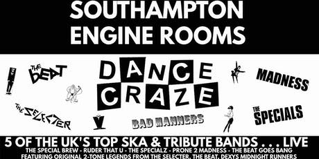 Dance Craze - The Tribute (Engine Rooms, Southampton) tickets