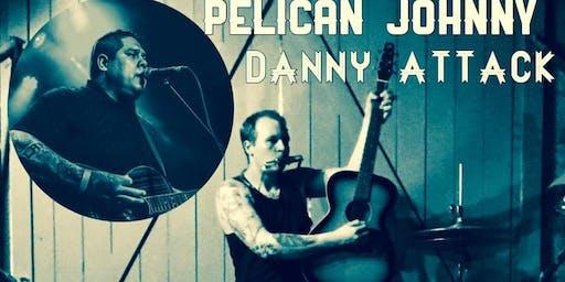 Pelican Johnny, Danny Attack at The Wormhole, Savannah, GA