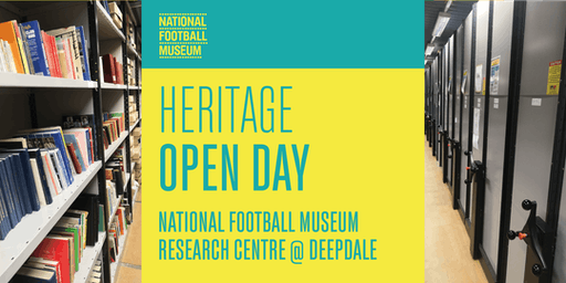 Heritage Open Day: National Football Museum Research Centre