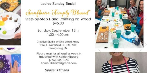 Ladies Sunday Painting Social
