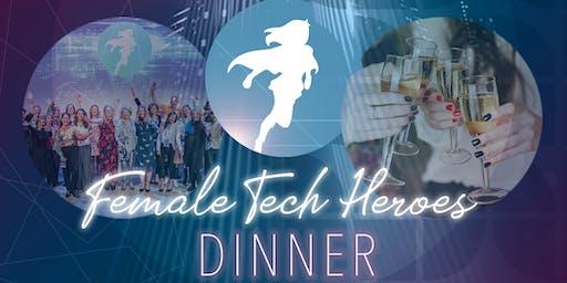 Female Tech Heroes Dinner