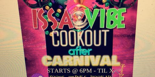 Issa Vibe.cook Out After Carnival