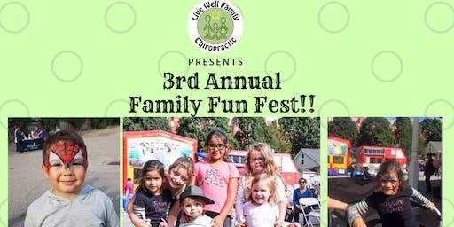 3rd Annual Family Fun Fest!!