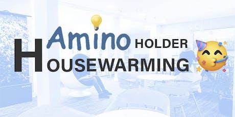 Amino holder housewarming på vores nye lokation - og du er inviteret. tickets