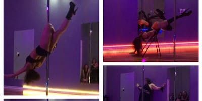 Pole Dance Instructor & Student Showcase in Kennesaw