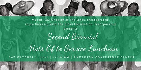 Macon (GA) Links Hats Off to Service Luncheon 2019 tickets