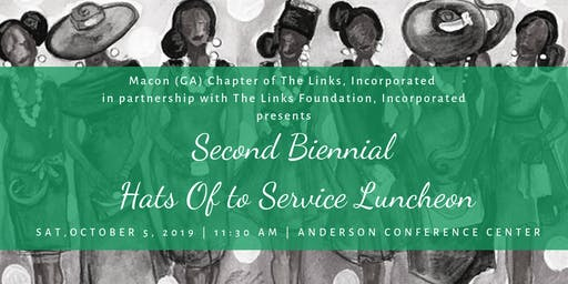 Macon (GA) Links Hats Off to Service Luncheon 2019
