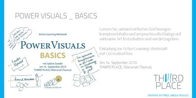 Power Visuals Active Learning-Werkstatt  mit CoCreativeFlow
