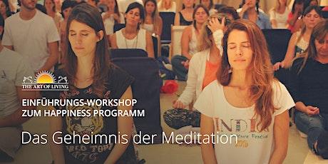Entdecke das Geheimnis der Meditation - Kostenloser Einführungsworkshop in Hamburg tickets