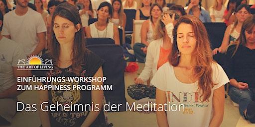 Entdecke das Geheimnis der Meditation - Kostenloser Einführungsworkshop in Hamburg