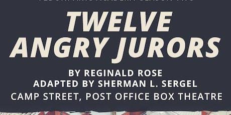 Twelve Angry Jurors tickets