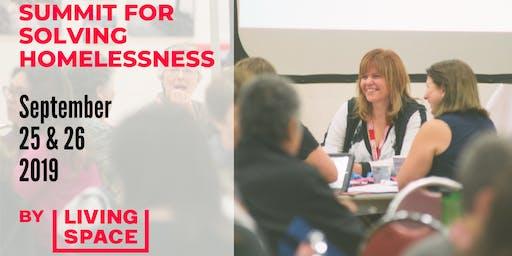Summit for Solving Homelessness