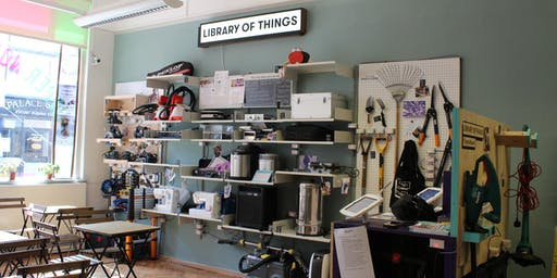 Library of Things: The Tour