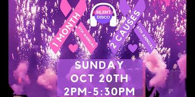PINK/PURPLE DANCE FITNESS MASHUP CHARITY EVENT