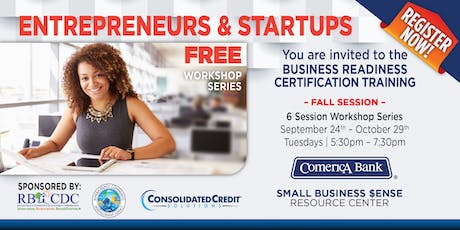 Business Readiness Certification Program | Riviera Beach | Fall Session tickets