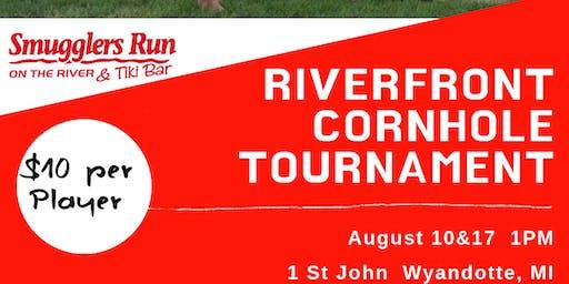 Cornhole Tournament at Smugglers Run