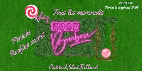 Rose Bonbon - L'édition exclusive du mercredi billets